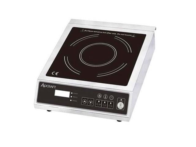 AdCraft Full Size Electronic 120V Induction Cooker IND-E120V