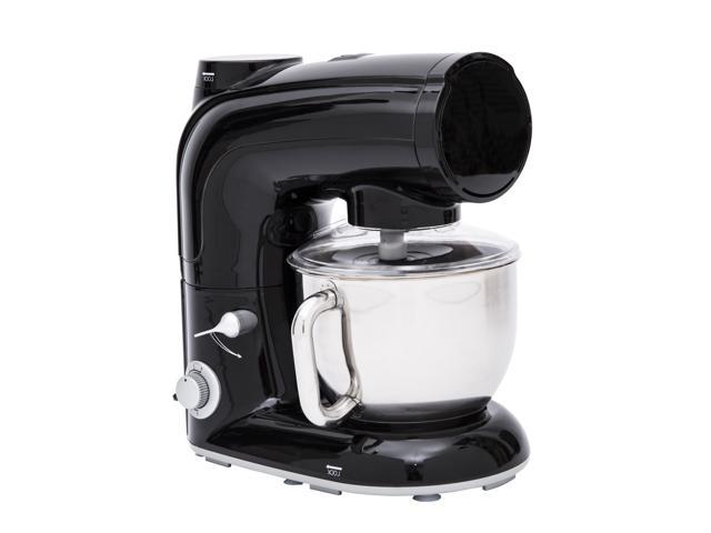 HomCom 5QT Tilt Head 6 Speed Stand Mixer - Black