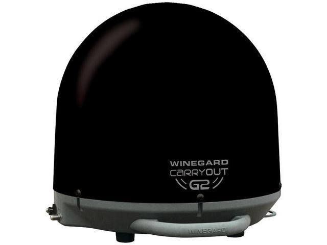 WINEGARD GM-2035 Carryout(R) G2 Automatic Portable Satellite TV Antenna (Black)