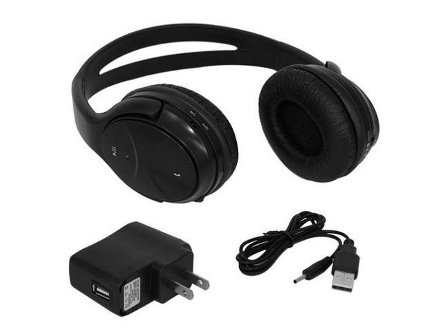 Skque Wireless Bluetooth Stereo Rechargeable Headset Headset w/Answer Button