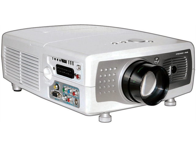 New Pyle Prjhd198 Tft Lcd Hd Video Projector