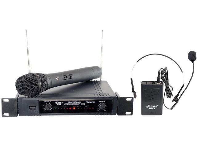 PylePro PDWM2700 Two Channels VHF Wireless Microphone