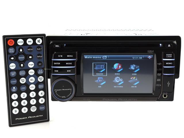 New Power Acoustik Pd-450 Touchscreen Car Audio Am/Fm Cd Player Car Radio Aux