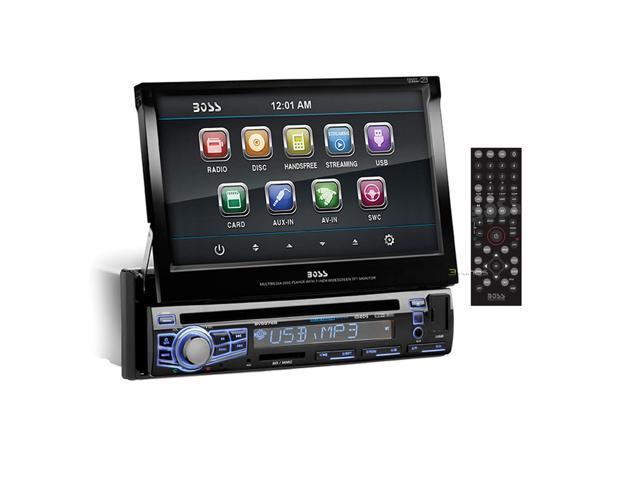 New Boss Bv9976b Bluetooth Car Audio Cd Player Am/Fm Car Radio Touchscreen Aux
