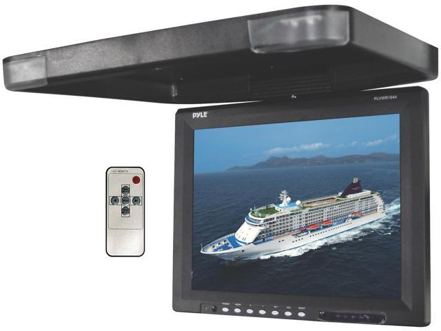 Pyle - 15.1'' Flip Down Roof Mount TFT LCD Monitor & IR Trasnmitter