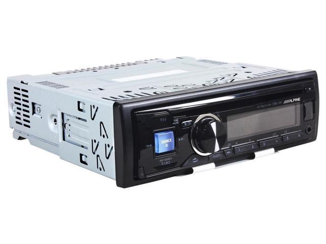 New Alpine Cde-141 Single Din Car Audio Cd Player Wma/Mp3 Player Am/Fm Car Radio
