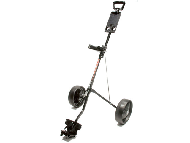 ProActive Fairway Flyer 201 Golf Pull Cart (Steel Black)