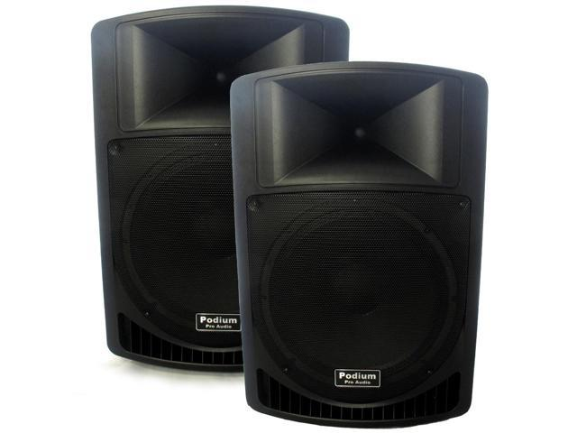 Podium Pro Audio PP1506A Battery Powered 15