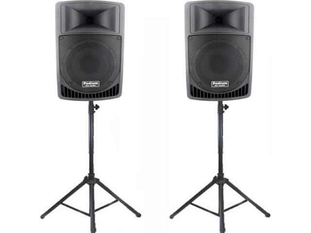 Podium Pro Audio PP806A Battery Powered 8