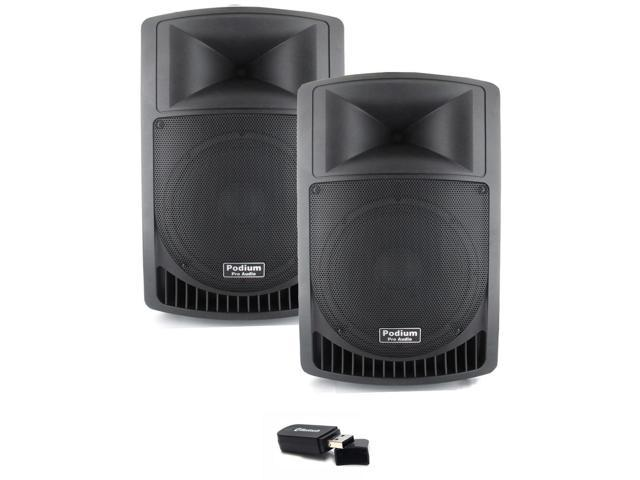 Podium Pro Audio PP1006A Battery Powered 10