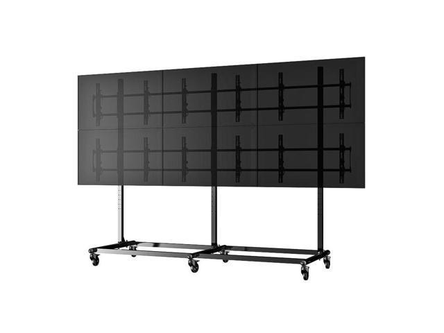 Cotytech Micro-Adjustable Video Wall Cart/Stand For 46 inch (3x2)