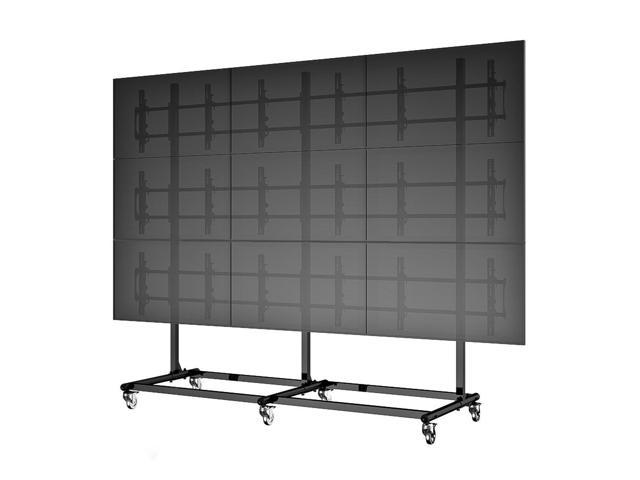 Cotytech Micro-Adjustable Video Wall Cart/Stand For 46 inch (3x3)