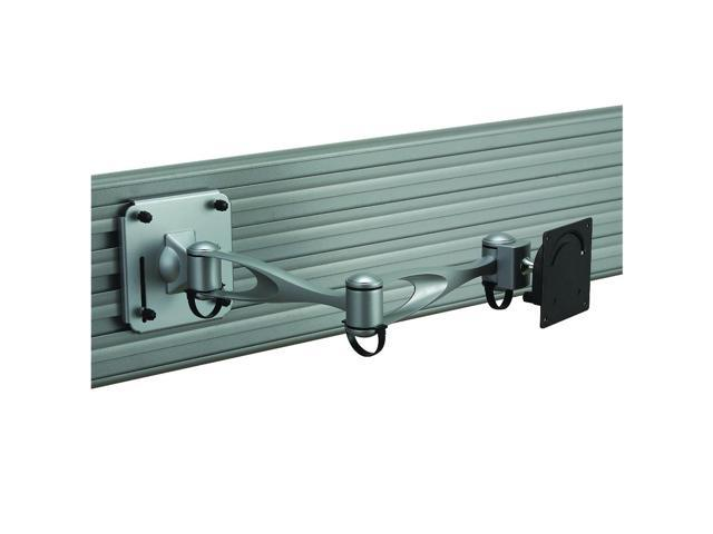 Cotytech LCD Monitor Slatwall Mount Double Arm