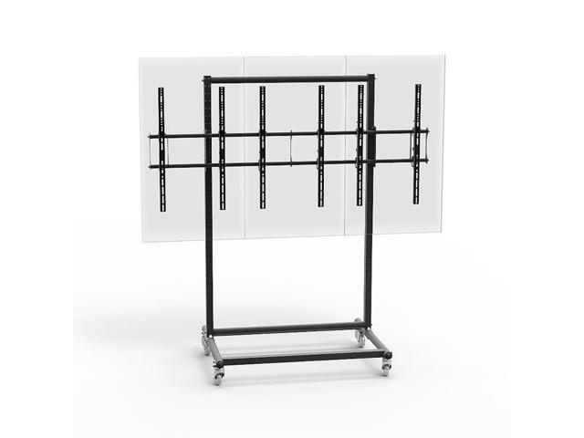 Cotytech Micro-Adjustable Mobile Video Wall Cart/Stand For 46