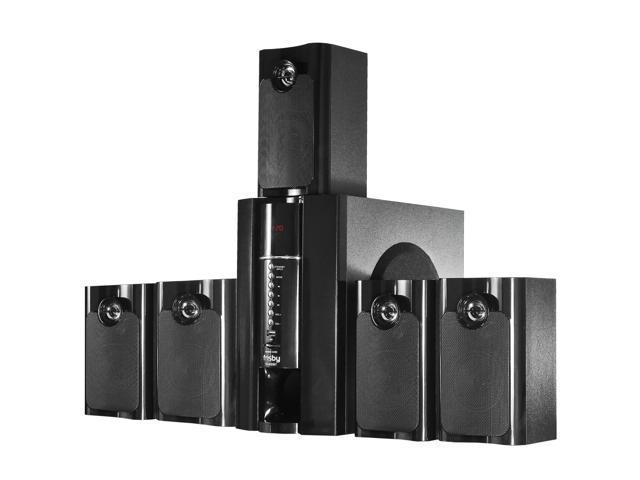 Frisby FS5020BT Bluetooth PC Laptop Computer 800 Watt 5.1 Surround Sound Speaker System w/ USB SD Remote control