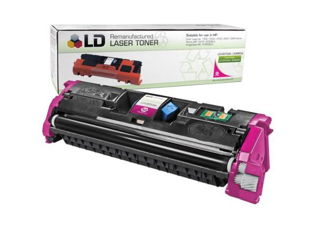 LD © Remanufactured Replacement Laser Toner Cartridge for Hewlett Packard C9703A (HP 121A) Magenta