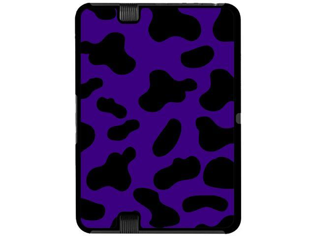 Cow Print Purple - Snap On Hard Protective Case for Amazon Kindle Fire HD 7in Tablet