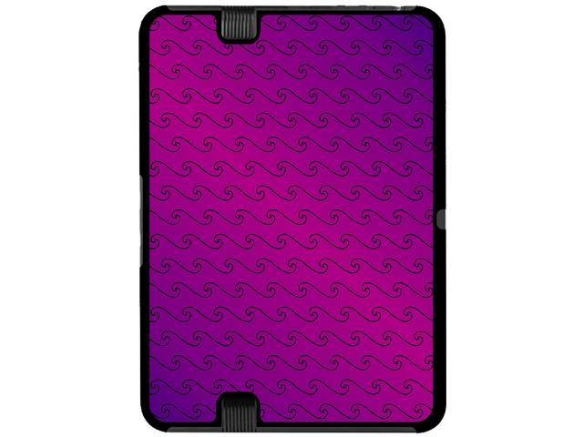 Making Waves Purple - Snap On Hard Protective Case for Amazon Kindle Fire HD 7in Tablet