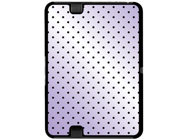 A Little Dotty Purple - Snap On Hard Protective Case for Amazon Kindle Fire HD 7in Tablet