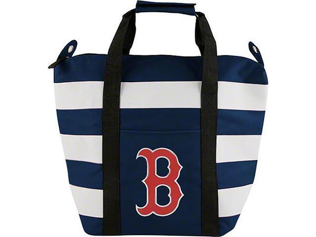 Boston Red Sox Mlb Freeze Striped Insulated Tote Bag