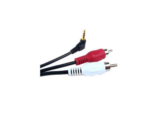OEM Verizon Universal 2.5mm to RCA Adapter (SHS25-35RCA1)