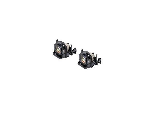 Panasonic ET-LAD60W E-Series Replacement Lamps Dual Pack