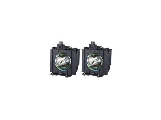 Panasonic ET-LAD55W / ETLAD55W E-Series Replacement Lamps Dual Pack
