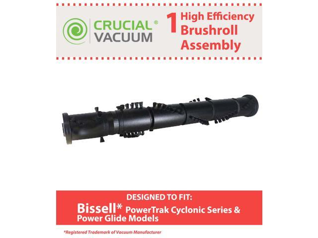 1 Bissell PowerTrak & Power Glide Replacement Roller Brush Assembly Designed To Fit Bissell PowerTrak & Power Glide Vacuum Cleaners; Compare to ...