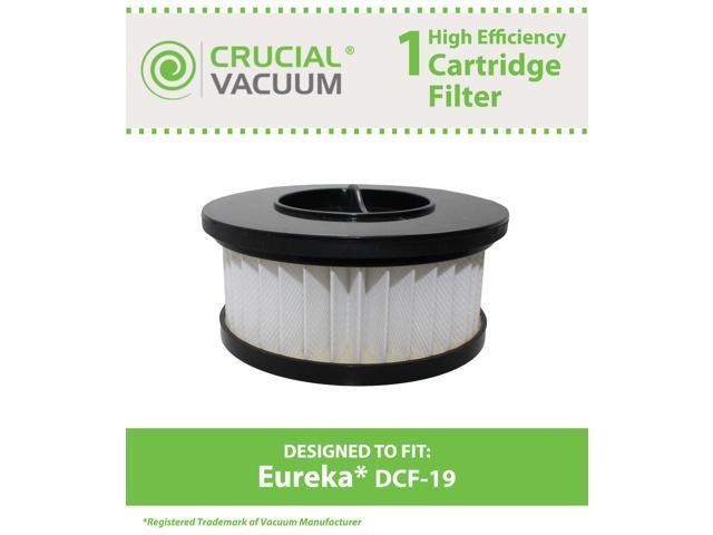 1 Eureka DCF19 Allergen Cartridge Filter Designed to Fit Eureka Boss Whirlwind Lite 450 Series Upright Vacuums; Compare to Eureka (DCF-19) DCF19 ...