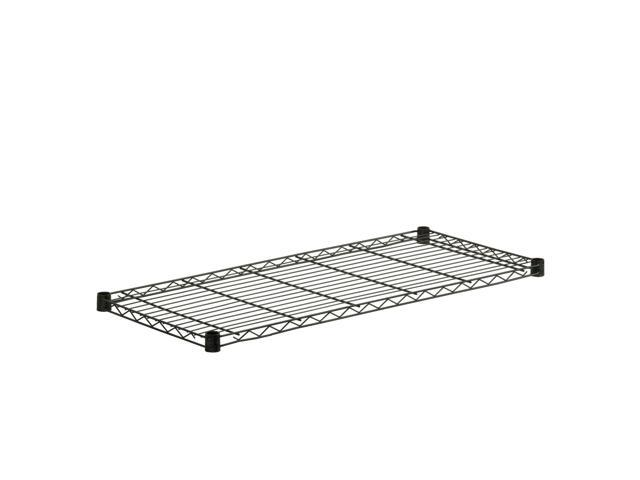 Steel Shelf-350Lb Black 18X42