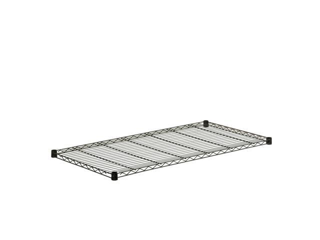 Steel Shelf-350Lb Black 18X48
