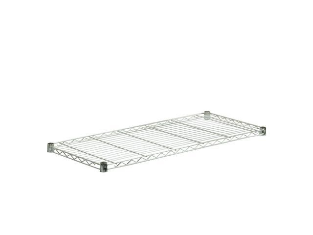 Steel Shelf-350Lb Chrome 18X42