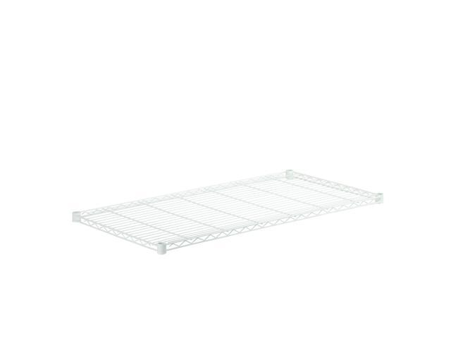 Steel Shelf-350Lb White 18X48
