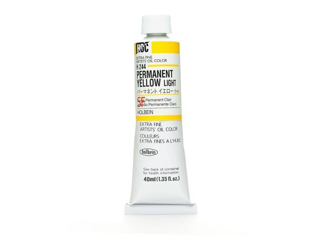 Holbein Artist Oil Colors permanent yellow light 40 ml