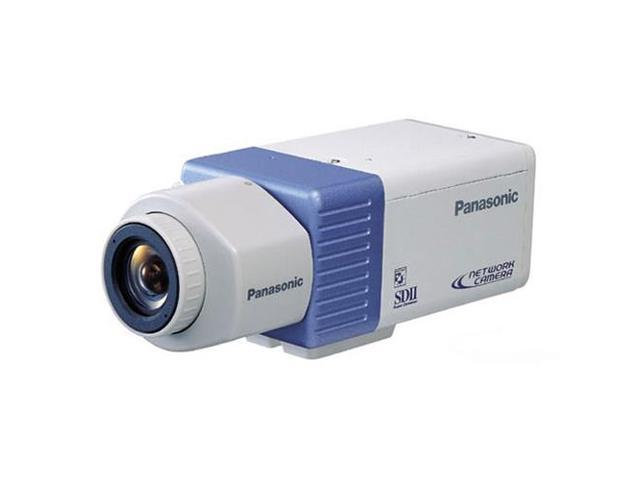Panasonic WV-NP472 Color CCD Network Camera W/ 752 x 568 Pixels Resolution And VD2 Synchronisation