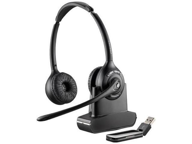 Plantronics 84008-03 Savi W420 Stereo Wireless Headset w/ One-Button Answer