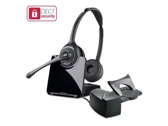 Plantronics 84692-01 CS520 with Lifter Stereo Wireless Headset Gain Mobility