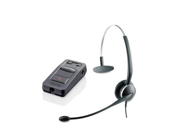 Jabra GN 2124 Mono NC with LINK 850 Amp Noise Cancelling 4-in-1 Headset