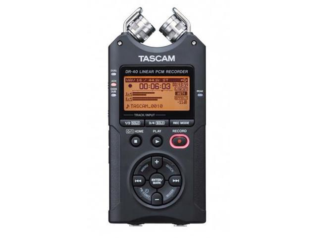 Tascam DR-40 4-Track Handheld Handheld Digital Audio Recorder