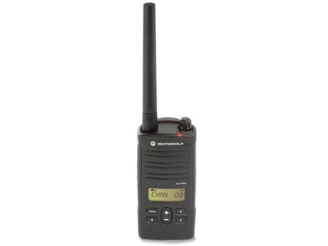 Motorola RDV2080D 2 Watts 8 Ch. Vhf Handheld Radio with Lcd Display