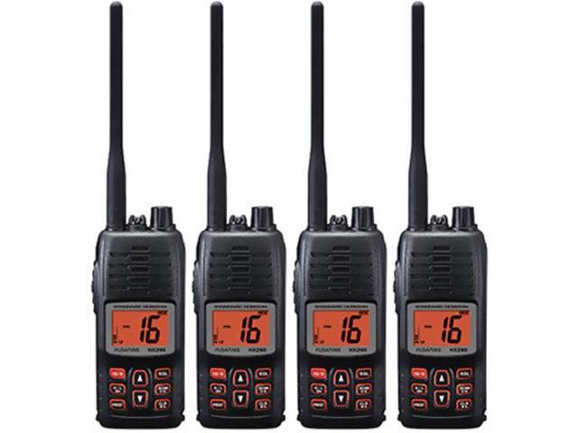 Standard Horizon HX290 (4 Pack) Floating Handheld VHF Radio