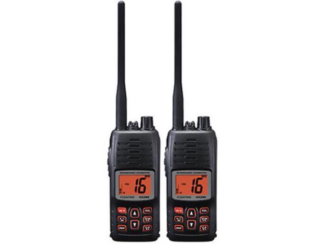 Standard Horizon HX290 (2 Pack) Floating Handheld VHF Radio