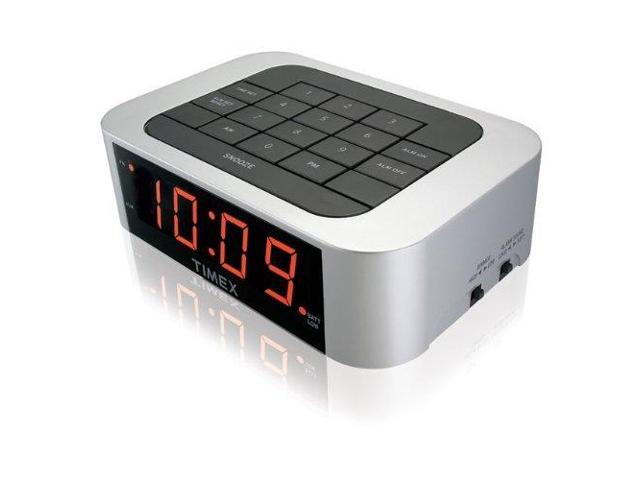 timex T123SXS Timex T123SX Simple Set Alarm Clock with LED Display