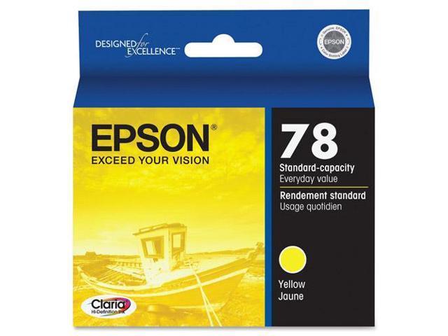 Epson T078420M Yellow Ink Cartridge For Epson Artisan 50 Inkjet And Stylus Photo RX Series Printer