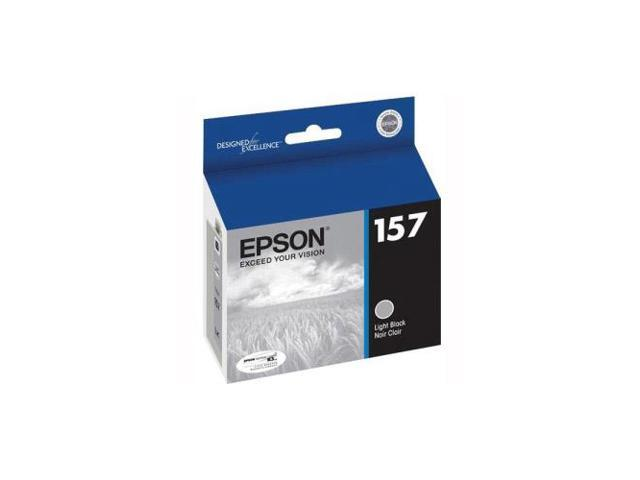 Epson T157720M UltraChrome K3 Ink Light Black Cartridge For Epson Stylus Photo R3000 Ink Jet Printer
