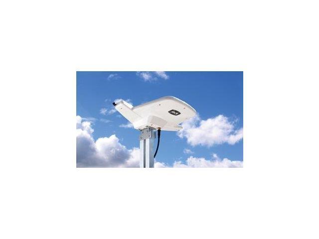 KING JACK 360 rotation VUQOA8200 Aerial Mount HD Antenna - UHF reception - White
