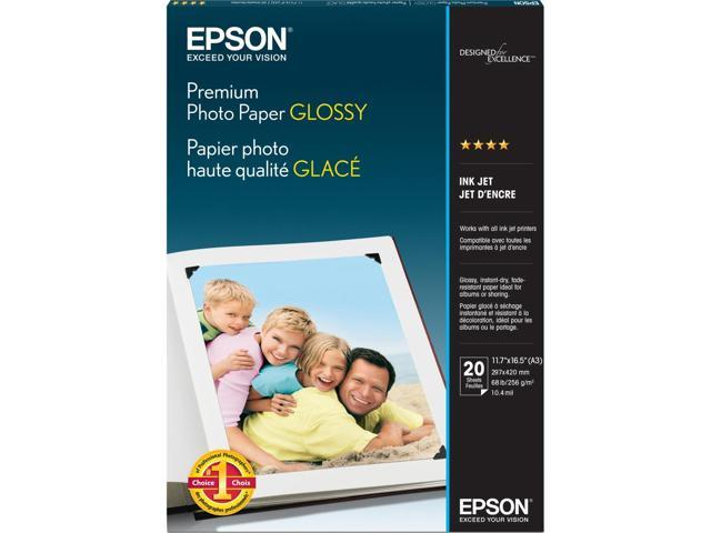 Epson S041288M Premium Photographic White Papers A3 - 11.70