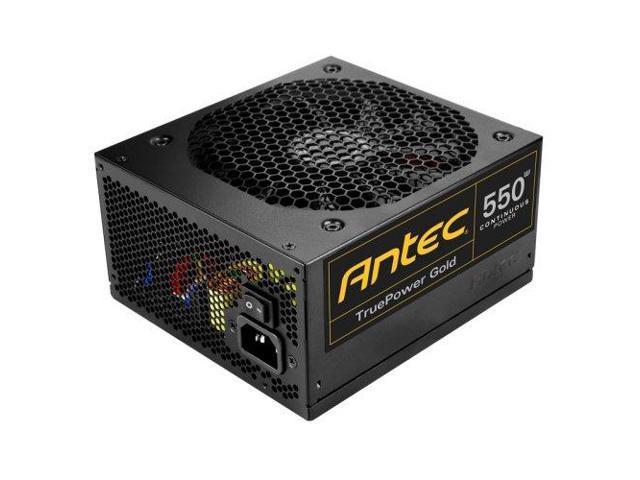 Antec PV9158B True Power ATX 550 Energy Star Certified Power Supply TP-550G