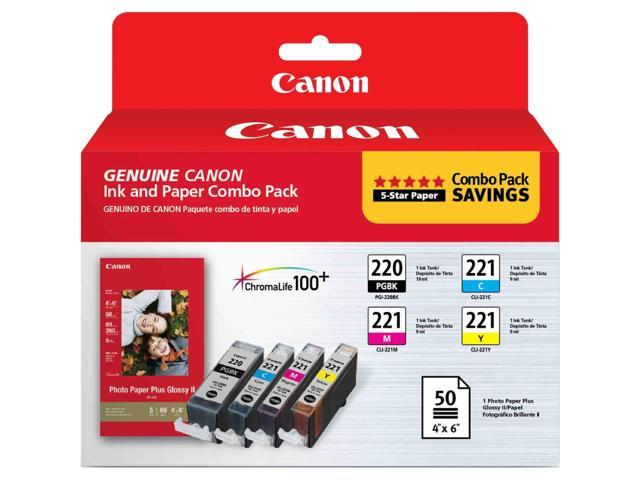 Canon 2945B011M PG-220/CL-221 with Photo Paper