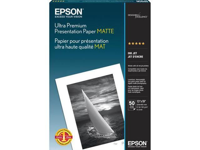 Epson S041339M White Matte Photographic Papers 13